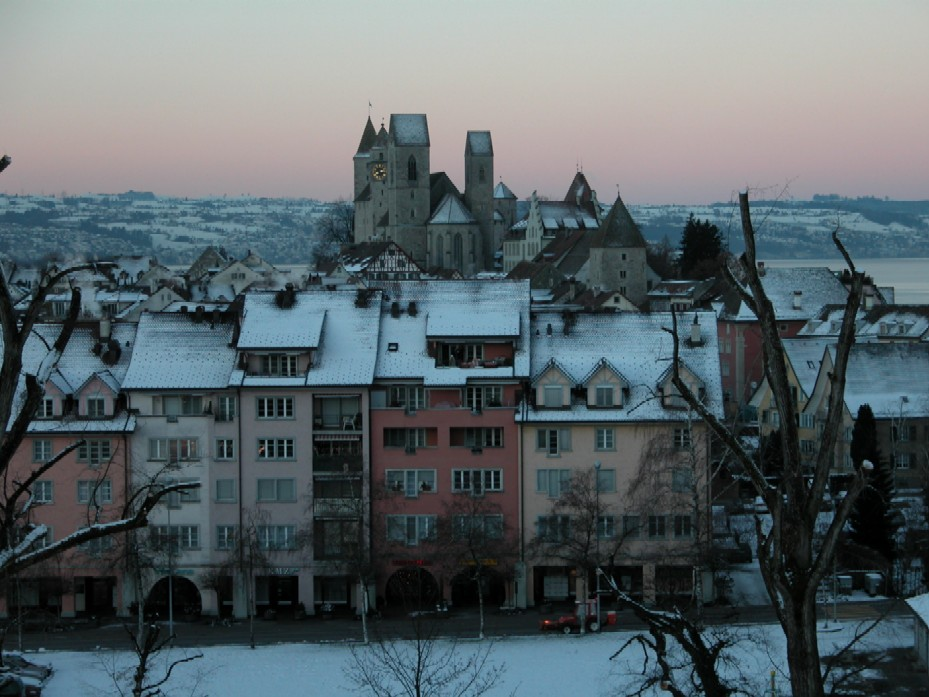 Rapperswil im Winter
